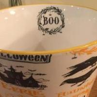 BOO Trick or Treat Bowl for sale in La Porte IN by Garage Sale Showcase member 4phans, posted 09/26/2019