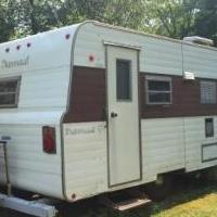1974 Nomad 16' Trailer Camper for sale in Sturgeon Bay WI by Garage Sale Showcase member 2018Ruby, posted 08/19/2018
