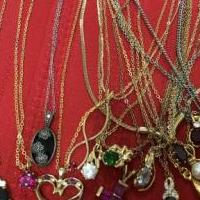 40 Gemstone Necklaces for sale in Howell MI by Garage Sale Showcase member kmaher2@sbcglobal.net, posted 07/06/2018