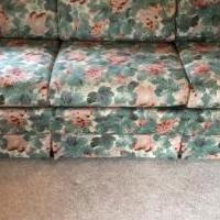 Floral Couch for sale in Bluffton IN by Garage Sale Showcase member patsgaragesales, posted 06/08/2018
