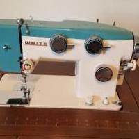 White Sewing Machine and Accessories for sale in Sidney OH by Garage Sale Showcase member jlhgjunk, posted 06/25/2018