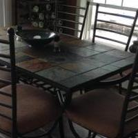 Ashley furniture Antigo dining room set for sale in Schuyler County NY by Garage Sale Showcase member wows of waneta, posted 08/19/2018