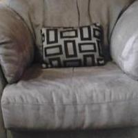 Microsuede chair for sale in Granby CO by Garage Sale Showcase member Babygirl17, posted 10/14/2018
