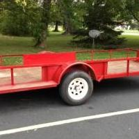 5 by 14 foot trailer for sale in Rice Lake WI by Garage Sale Showcase member mspecial, posted 09/21/2018