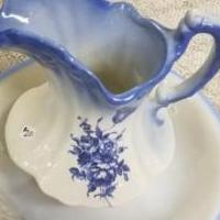 French Provincial Wash Bowl & Water Pitcher for sale in York PA by Garage Sale Showcase member GaragesaleBonnie, posted 01/13/2018