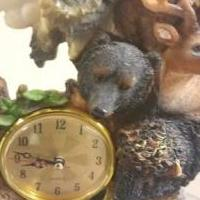 Ceramic Wild Life Clock for sale in York PA by Garage Sale Showcase member GaragesaleBonnie, posted 01/15/2018