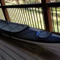 Eddyline Shasta Tandem Kayak - Blue for sale in Evergreen CO by Garage Sale Showcase member pahill123@comcast.net, posted 07/15/2018