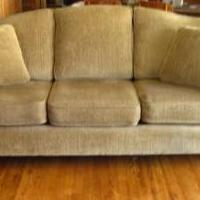 Smith Bros. Sofa, Tilt back chair and ottoman for sale in Phillips WI by Garage Sale Showcase member Drait23, posted 04/16/2018