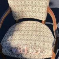 Antique arm chair for sale in Greenbush MI by Garage Sale Showcase member Birder, posted 07/11/2018