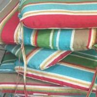 6 Patio Cushions for sale in Texarkana AR by Garage Sale Showcase member Vhmk1957, posted 04/17/2018