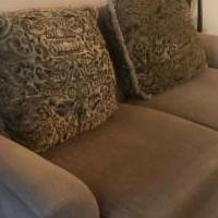 2 cushion sofa for sale in Buffalo Grove IL by Garage Sale Showcase member probbq@sbcglobal.net, posted 07/20/2018