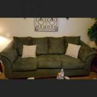 Couch and love seat for sale in Morenci MI by Garage Sale Showcase member Samantha52, posted 08/03/2018