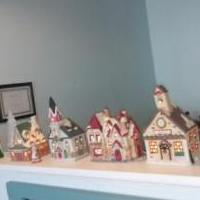 Christmas Village for sale in Norwalk OH by Garage Sale Showcase member victorian, posted 07/25/2018