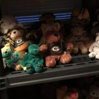 Packets n cowboys teddy bears for sale in Beloit WI by Garage Sale Showcase member Grannyma, posted 08/04/2018
