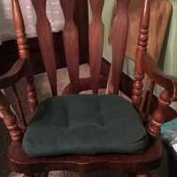 Rocking Chair for sale in Beloit WI by Garage Sale Showcase member Grannyma, posted 08/04/2018