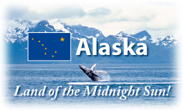 Alaska, Land of the Midnight Sun!