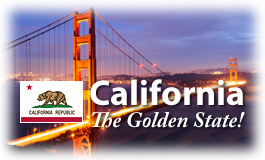 California, The Golden State!