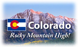 Colorado, Rocky Mountain High!
