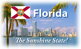 Florida, The Sunshine State!