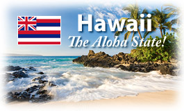 Hawaii, The Aloha State!