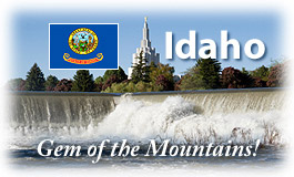 Idaho, Gem of the Mountains!