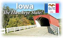 Iowa, The Hawkeye State!