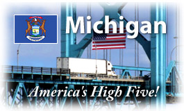 Michigan, America's High Five!