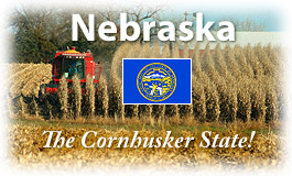 Nebraska, The Cornhusker State!