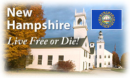 New Hampshire, Live Free or Die!